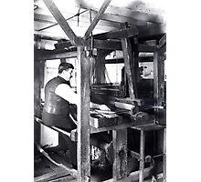 Weaver's workshop, Trowbridge, Wiltshire Photographic Print