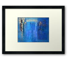 Blue 12 Framed Print