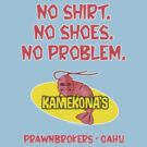 Kamekona's Shrimp logo from Hawaii 5-0 S2 (No Shirt...) by Sharknose
