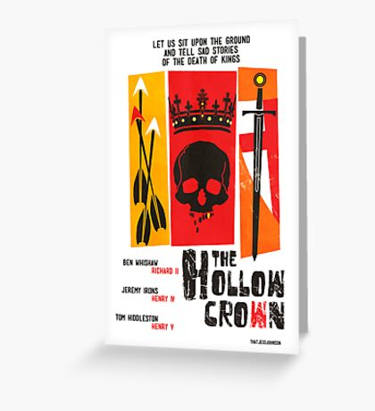 The Hollow Crown (Color Variant 2) Greeting Card