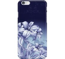 Blue Orchid iPod / iPhone 4  / iPhone 5 Case  / Samsung Galaxy Cases  iPhone Case/Skin