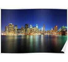 Manhattan Nite Lites NYC Poster