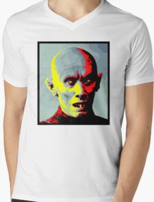 Psychedelic Barlow Mens V-Neck T-Shirt
