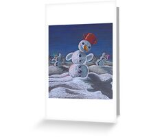 Let it dance Greeting Card