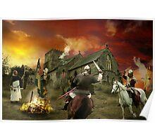 The Burning Cross Poster