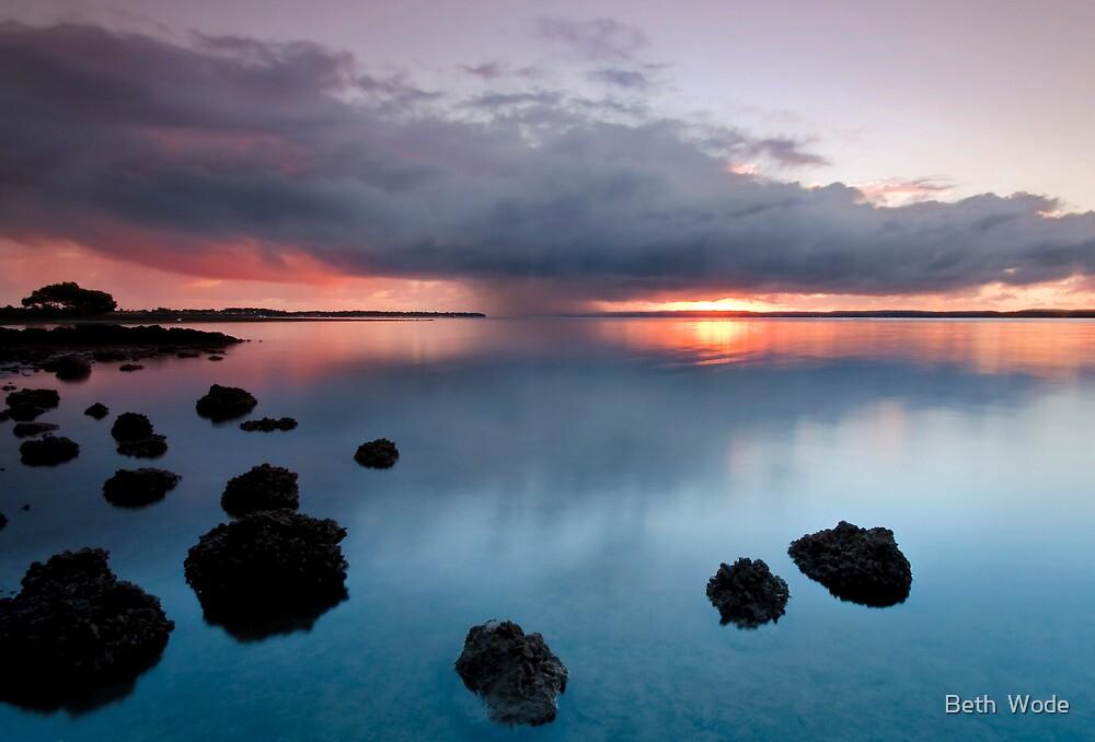 Here Comes the Rain! - Redland Bay Qld Australia by Beth  Wode