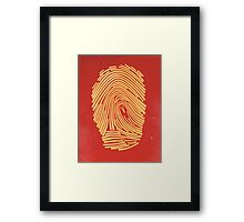 Corporate Identity Framed Print