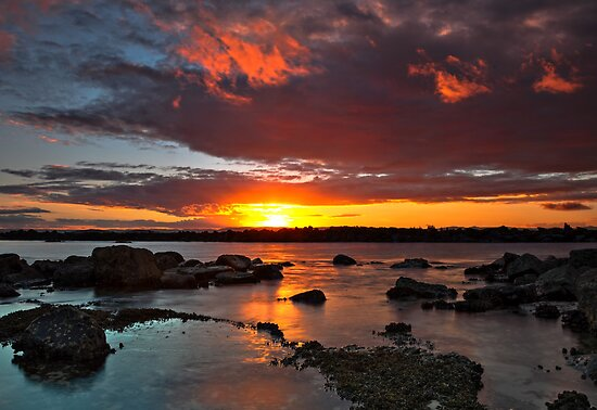 Clouds on Fire by bazcelt