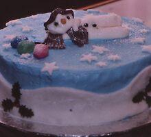 Snowman Cake by AnnDixon
