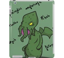 The call of the Cthulhu iPad Case/Skin