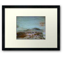 The Soft Land Framed Print