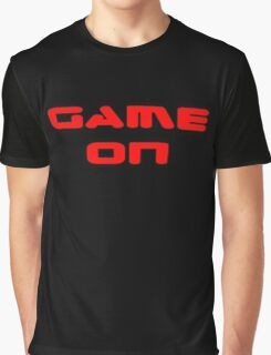 Game Over - Game On - Computer T-Shirt Graphic T-Shirt