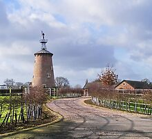 Cheshire Windmill by AnnDixon