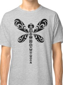 Tribal Dragonfly Tattoo Classic T-Shirt