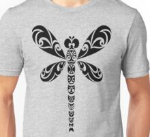 Tribal Dragonfly Tattoo Unisex T-Shirt