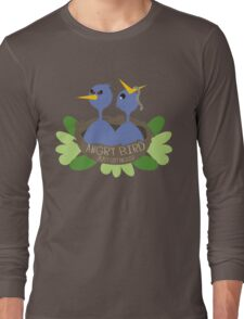 angry bird baby blue birds Long Sleeve T-Shirt
