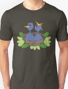 angry bird baby blue birds T-Shirt