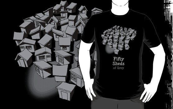 50 Sheds of Grey by Bleee