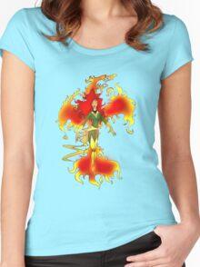 Phoenix Fire Women's Fitted Scoop T-Shirt