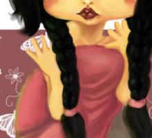 Princess Malia Sticker