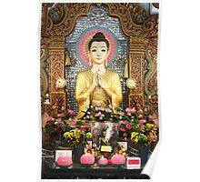 Cute Buddha Poster Poster