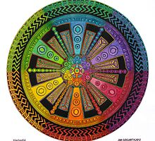 Mandala 43 drawing rainbow 1 by mandala-jim