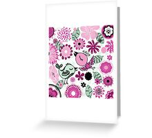i love doodle Greeting Card