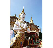 Thai Temple in Penang Photographic Print