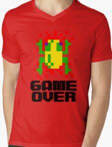 Frogger - Game Over Mens V-Neck T-Shirt