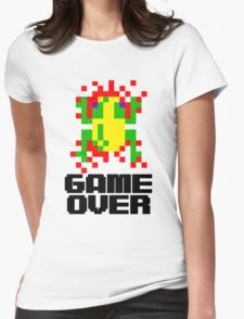 Frogger - Game Over Womens Fitted T-Shirt