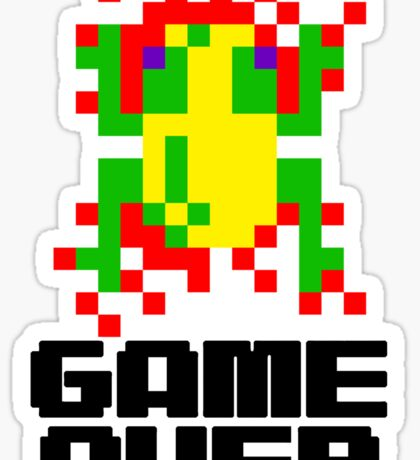 Frogger - Game Over Sticker