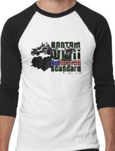 American WWII Stantard Men's Baseball ¾ T-Shirt