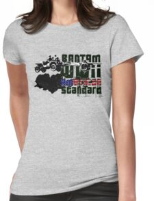American WWII Stantard Womens Fitted T-Shirt