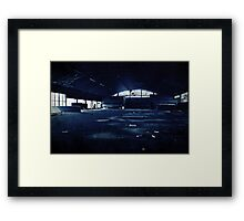 Abandoned Blue #04 Framed Print