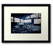 Abandoned Blue #05 Framed Print