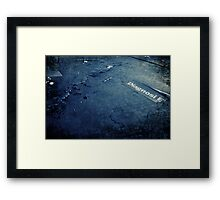 Abandoned Blue #07 Framed Print