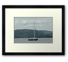 Bon Voyage Set Sail Framed Print