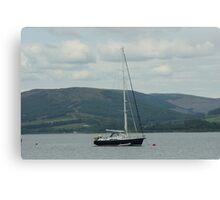 Bon Voyage Set Sail Canvas Print