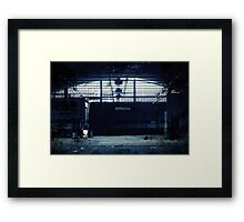 Abandoned Blue #10 Framed Print