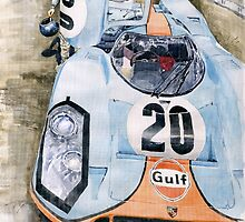 Steve McQueens Porsche 917K Le Mans by Yuriy Shevchuk