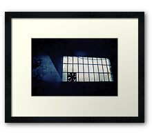 Abandoned Blue #11 Framed Print
