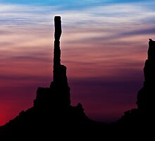 Sun dawns at Totem Pole by Owed To Nature