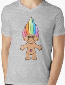 Troll Magic Mens V-Neck T-Shirt