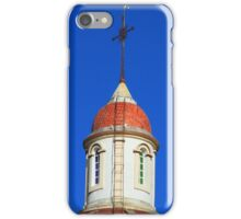 Dome and Cross on a Church iPhone Case/Skin