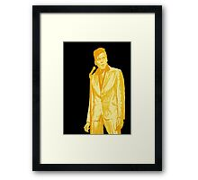 Billy Fury GOLD Framed Print