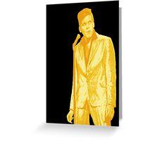 Billy Fury GOLD Greeting Card