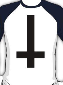 inverted cross (black) T-Shirt