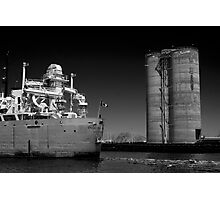 The freighter English River Photographic Print
