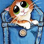 Sweet Ginger the Pocket Kitten by Lisa Marie Robinson