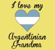 I Love My Argentinian Grandma One Piece - Short Sleeve
